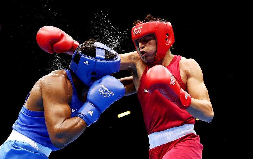 Боксерский поединок на Летних Олимпийских играх в Лондоне, 2012 год