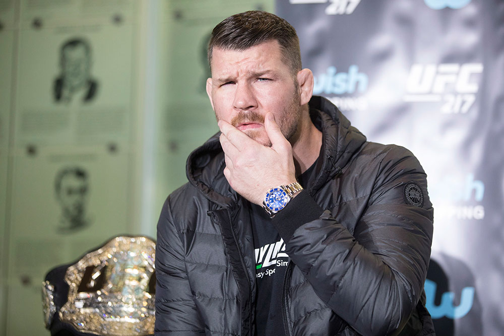 Michael Bisping reveals he was assaulted on Saturday
