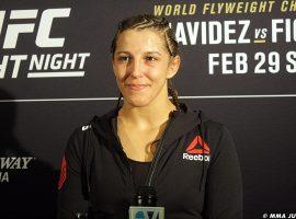 Фелиция Спенсер считает, что она заслужила бой за титул UFC с Амандой Нуньес