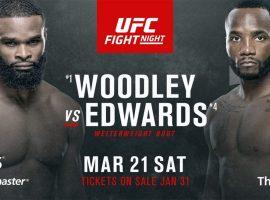 Срочно: Турнир UFC этой недели с участием Тайрона Вудли и Леона Эдвардса будет перенесен с Лондона в другую локацию