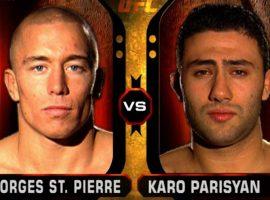 Джордж Сент-Пьер получил за дебютный бой в UFC всего 3.000$