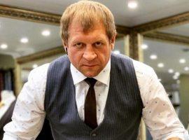 Александр Емельяненко заявил, что энергетики безопасны для здоровья