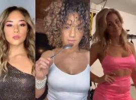 Флешмоб с переодеванием в сексуальную одежду от девушек из ММА