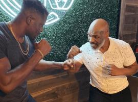 Фрэнсис Нганну взял уроки бокса у легендарного Майка Тайсона   Видео