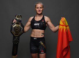 Чемпионка UFC Валентина Шевченко впервые вернулась в зал после травмы