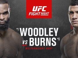 Тайрон Вудли - Гилберт Бёрнс: прогнозы и ставки на бой UFC Fight Night 173