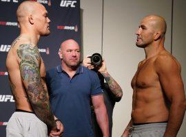 Результаты взвешивания участников турнира UFC Fight Night 171: Смит – Тейшейра