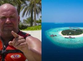 Дана Уайт показал, как будет выглядеть октагон на бойцовском острове в Абу-Даби