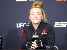 Дебютантка UFC Кей Хансен встретилась с игроком, который поставил на ее победу $37.000