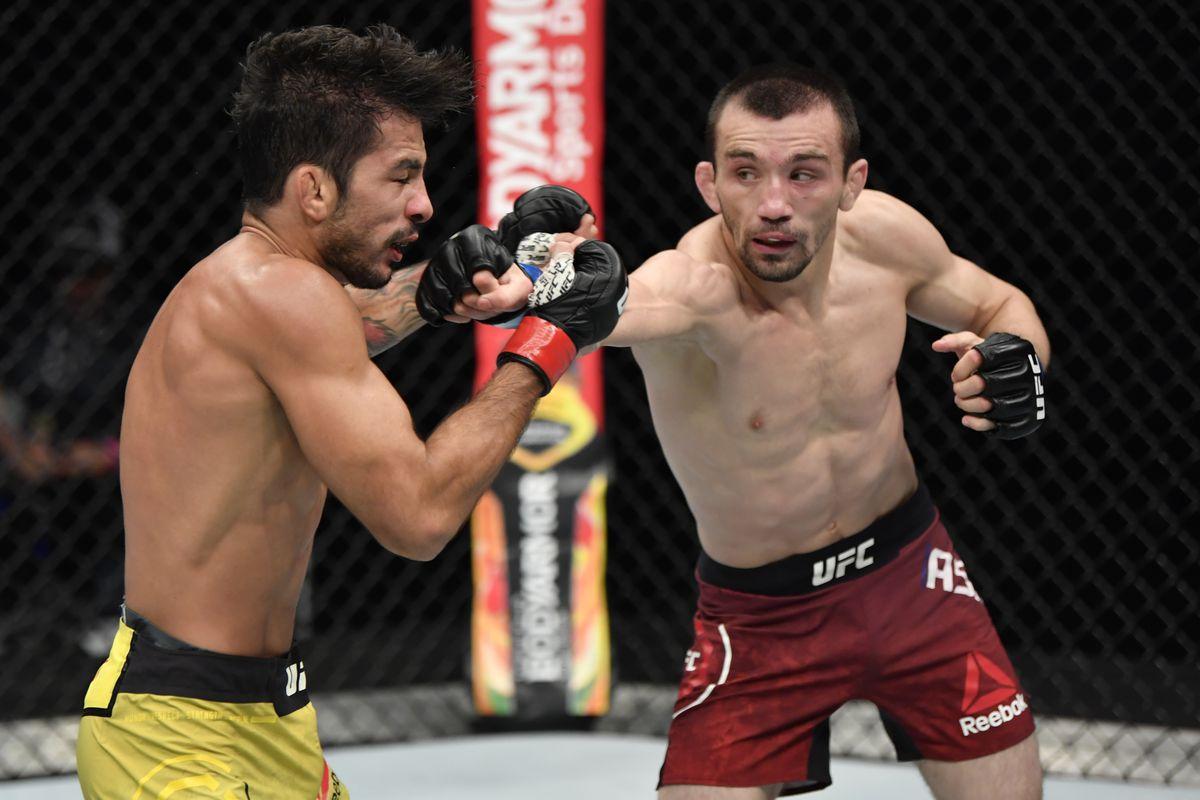 Аскар Аскаров бросил вызов чемпиону UFC Дейвесону Фигередо