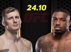 Александр Волков встретится с Уолтом Харрисом на турнире UFC 254: Хабиб – Гетжи