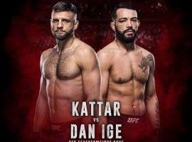 Прогнозы и ставки на бой UFC Fight Night: Каттар vs Иге