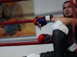 Хабиб Нурмагомедов вернулся к тренировкам после смерти своего отца