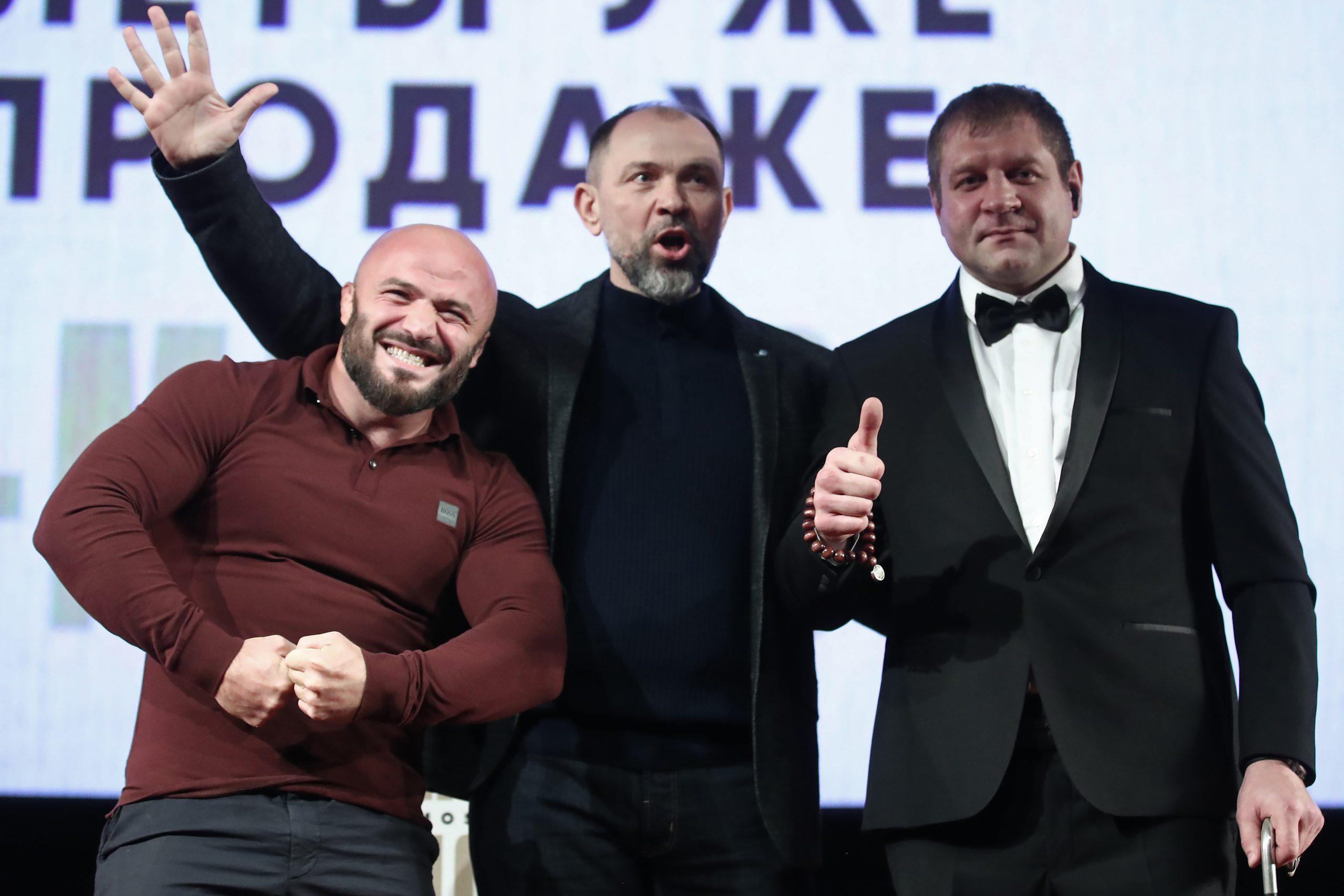 Исмаилов и Емельяненко спели оперу