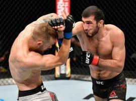 Рамазан Эмеев одержал очередную победу на турнире UFC