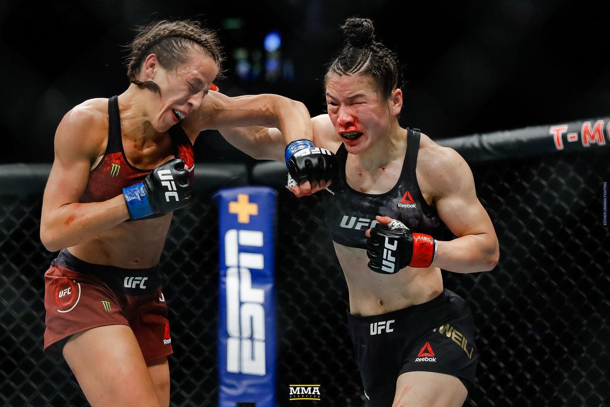 Йоанна Енджейчик в кровавом сражении с Вейли Жанг.
