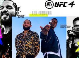 На официальную обложку новой игры UFC 4 попали Масвидаль и Адесанья. Представлен трейлер