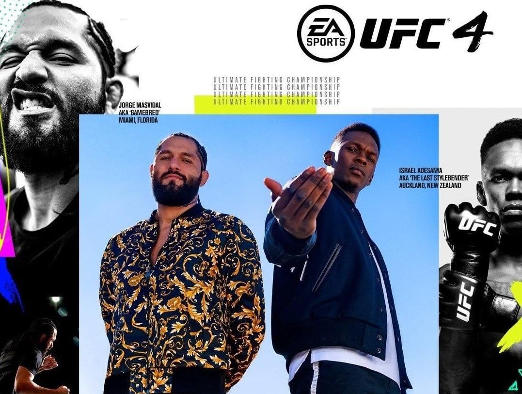 Масвидаль и Адесанья на обложке новой игры UFC 4