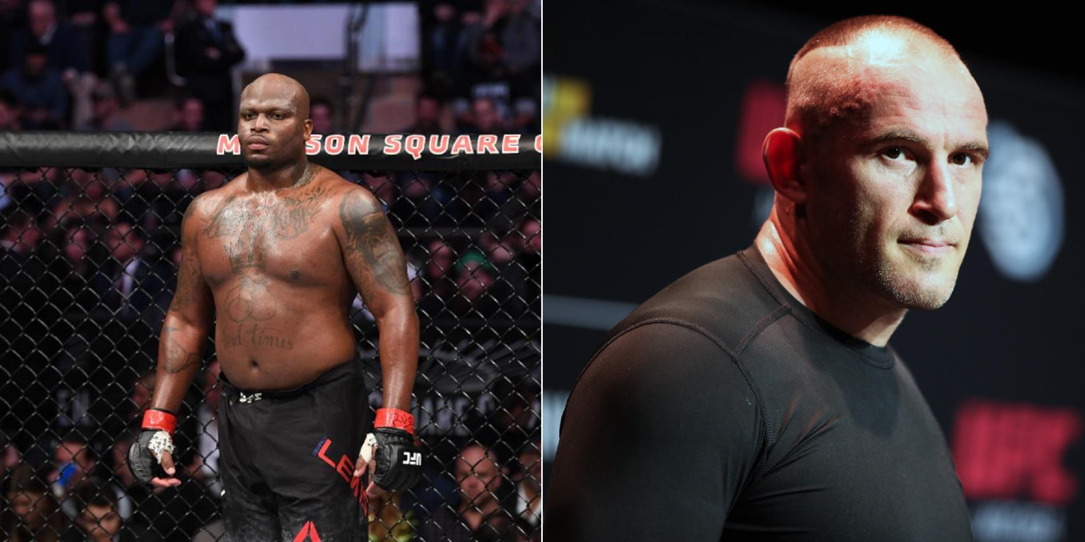 Опубликован постер турнира UFC с участием Деррика Льюиса и Алексея Олейника
