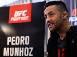 У Педро Муньоза обнаружен коронавирус, бой с экс-чемпионом UFC Фрэнки Эдгаром отменен