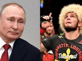 Путин позвонил Хабибу Нурмагомедову, услышав новость о смерти его отца