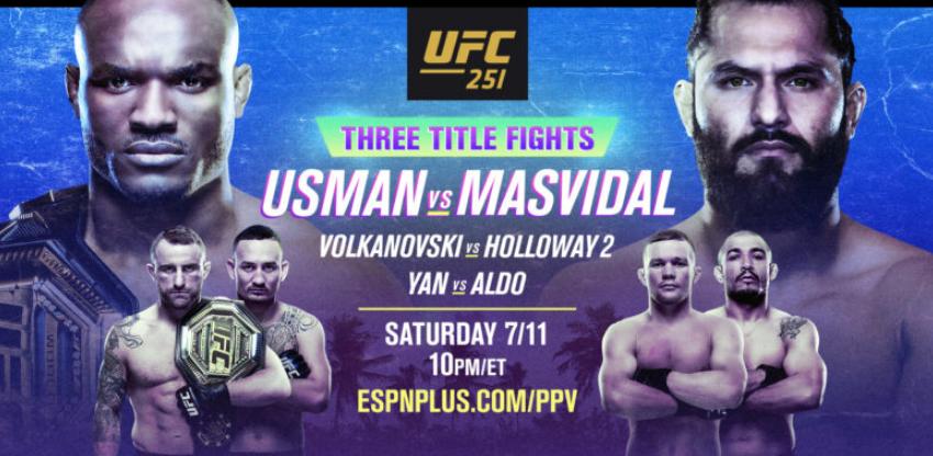 Турнир UFC 251: Усман - Масвидаль