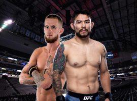 Рэй Борг — Натан Манесс: прогноз и ставка на бой UFC Fight Night: Брансон vs. Шахбазян