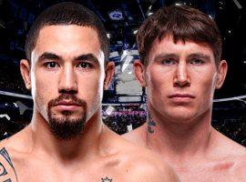 UFC Fight Night: Роберт Уиттакер vs. Даррен Тилл: прогноз и ставка на бой.