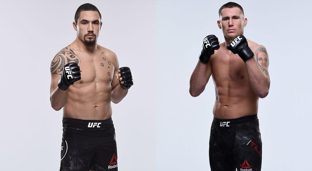 UFC Fight Night: Уиттакер vs Тилл