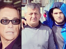 Легендарный киноактер Жан-Клод Ван Дамм скорбит о смерти отца Хабиба Нурмагомедова
