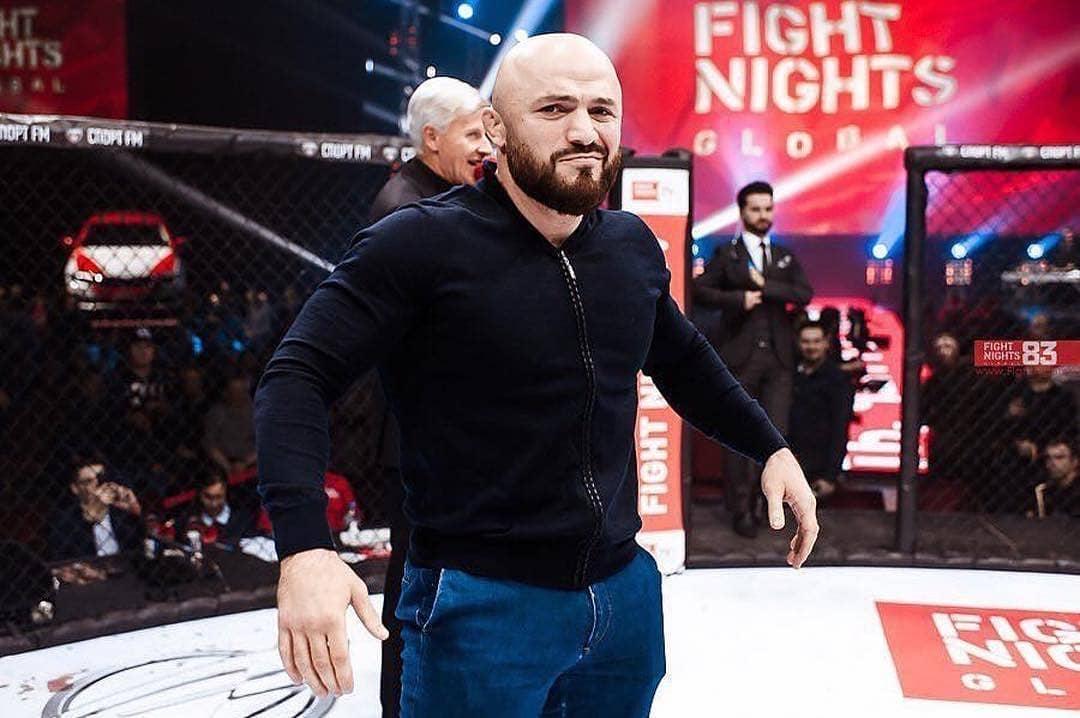 Магомед Исмаилов на FIGHT NIGHTS GLOBAL