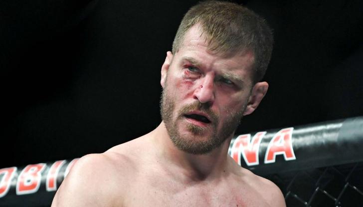 Стипе Миочич после тычка в глаз