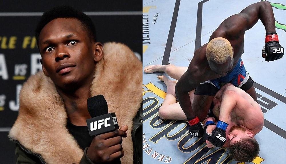 Адесанья обратился с Брансону после досрочной победы над Шахбазяном на UFC Vegas 5