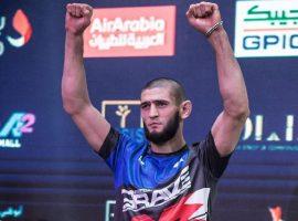 Хамзат Чимаев собирается тренироваться вместе с Хабибом