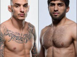 Бой Ренато Мойкано vs. Магомед Мустафаев состоится на UFC 17 октября