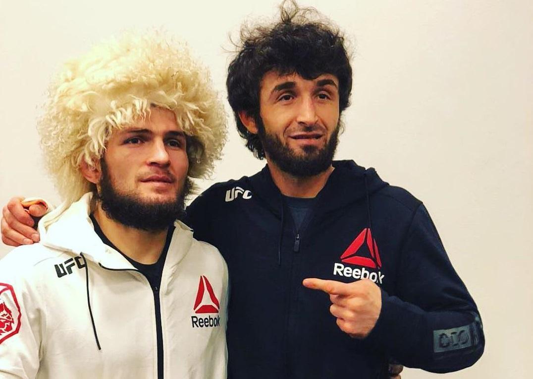 Хабиб Нурмагомедов и Забит Магомедшарипов. Фото