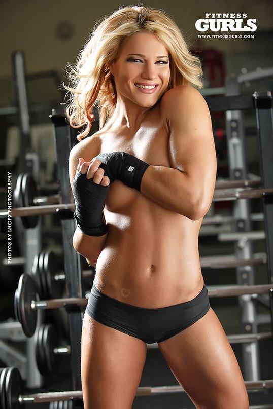 Фелис Херриг в мужском журнале Fitness Gurls. Фото 3