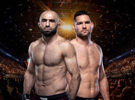 Крис Вайдман — Омари Ахмедов: прогноз и ставка на бой UFC Fight Night: Льюис vs. Олейник