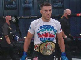 Вадим Немков - первый российский чемпион Bellator в полутяжёлом весе