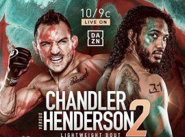Результаты турнира Bellator 243: Чендлер – Хендерсон 2