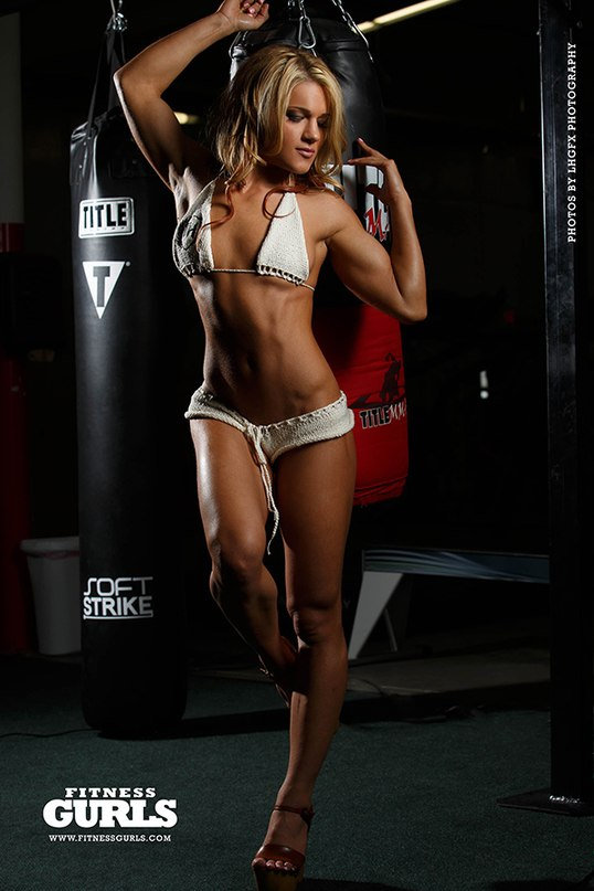 Фелис Херриг в мужском журнале Fitness Gurls. Фото 5