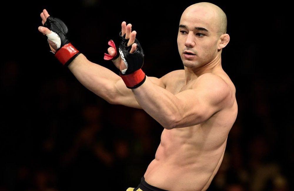 Марлон Мораес боец UFC