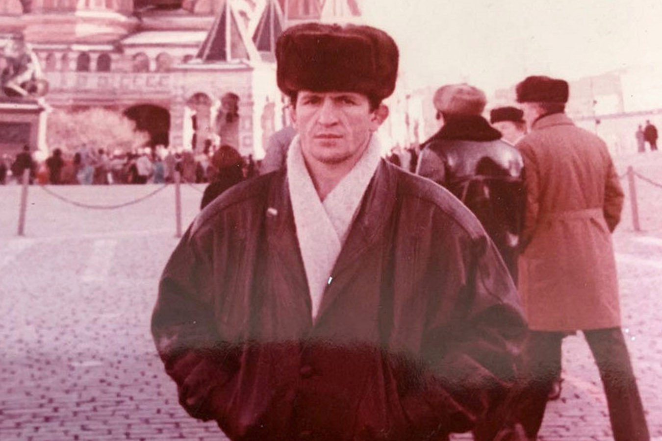 Абдулманап Нурмагомедов в молодости