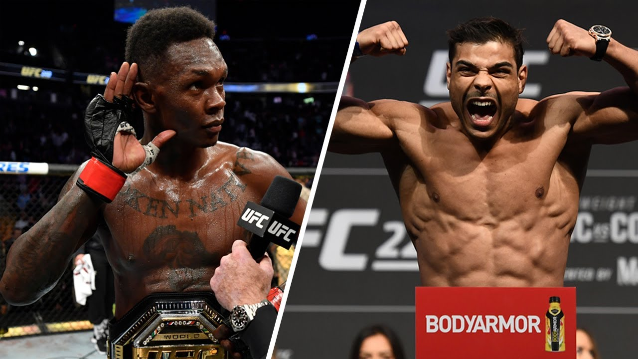Адесанья vs Коста перед UFC 253