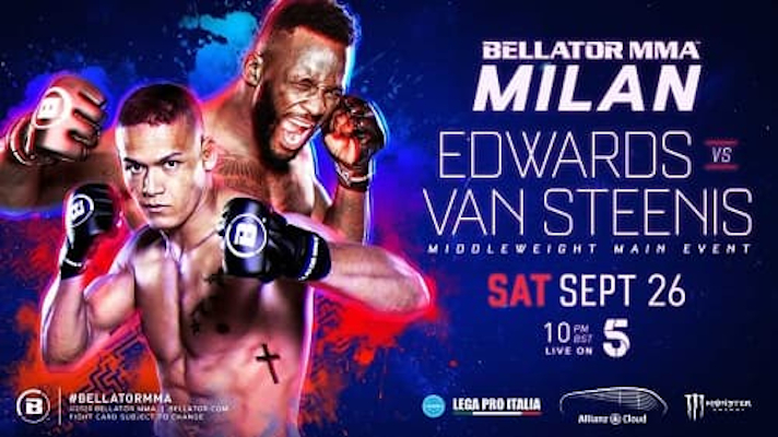 Bellator Euro Series 8: Эдвардс - Ван Стинис