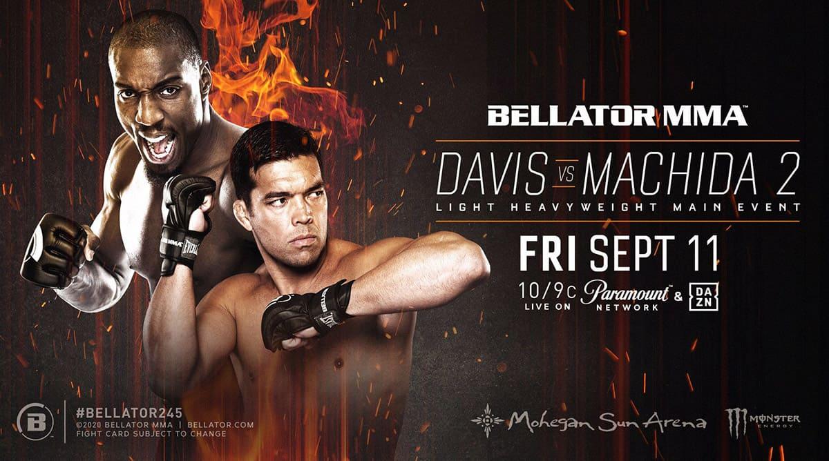 Bellator 245: Дэвис - Мачида 2