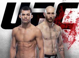 Билли Куарантилло — Кайл Нельсон: прогноз и ставка на бой UFC Fight Night 177: Waterson vs. Hill