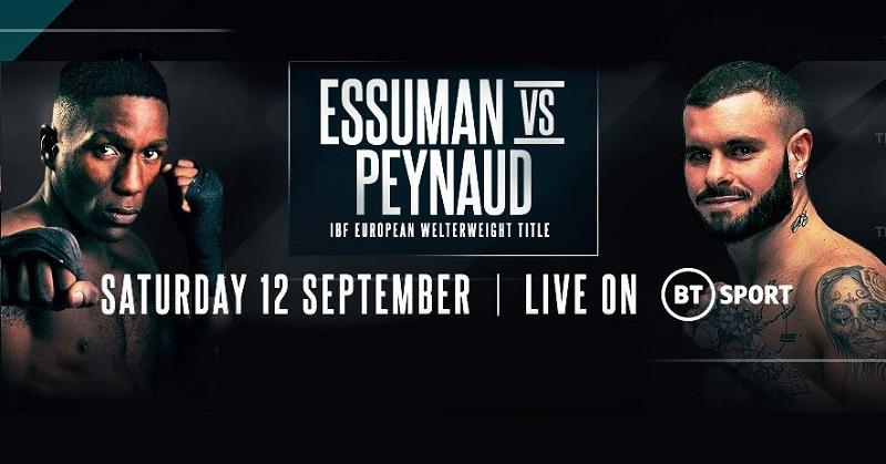 Cedrick Peynaud - Ekow Essuman прогноз и ставка на бой