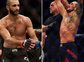 Бой Гига Чикадзе vs. Омар Моралес добавлен в кард турнира UFC 10 октября