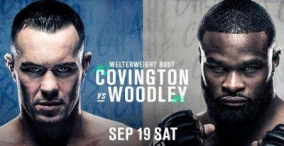 Результаты турнира и видео лучших моментов UFC on ESPN+ 36: Тайрон Вудли – Колби Ковингтон